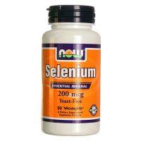 Selenio 200mcg de 90 capsulas vegetales del fabricante Now Foods (Vitaminas y Minerales)