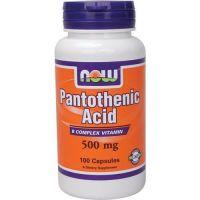 Pantothenic acid 500mg - 100 caps