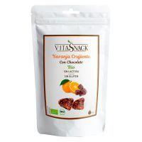 Naranja Crujiente Ecológica con Chocolate - 28g