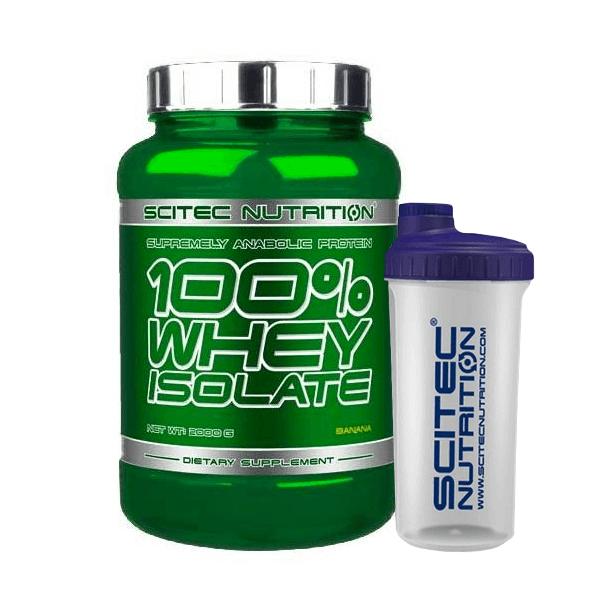 100% Whey Isolate - 2000g + Vaso Mezclador de REGALO