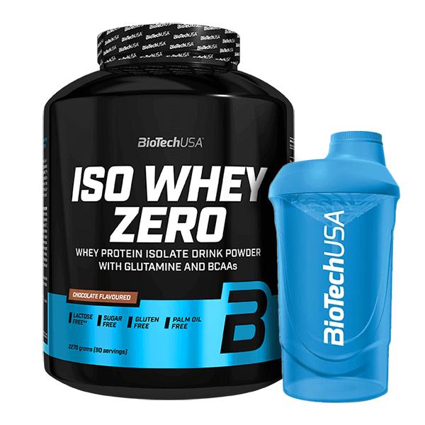 ISO Whey Zero - 2270g + Vaso Mezclador de REGALO