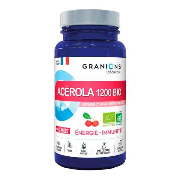 Acerola 1200 Bio - 30 Tabletas masticables