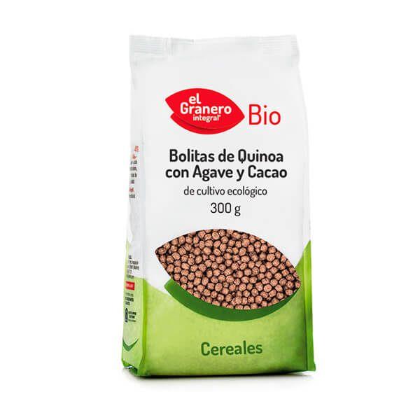 Bolitas de Quinoa con Ágave y Cacao Bio - 300g