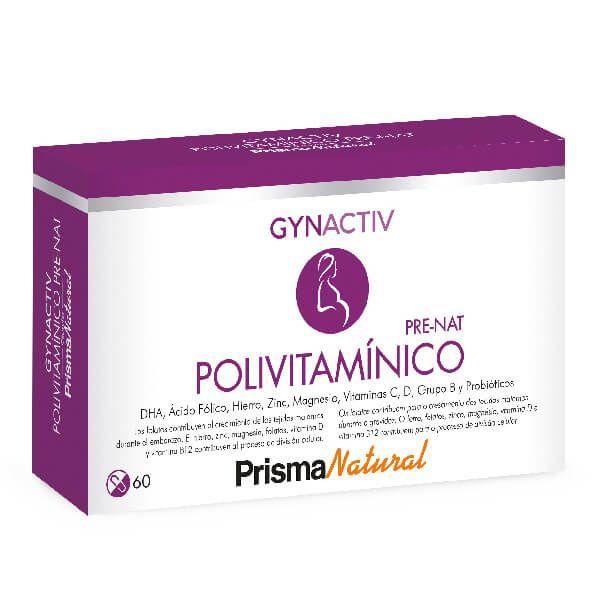 Polivitamínico Pre-Nat - 60 Cápsulas