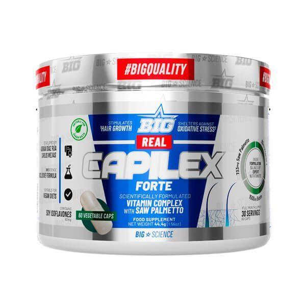 Real Capilex Forte - 60 Cápsulas vegetales