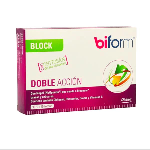 Block Doble Acción - 30 Cápsulas