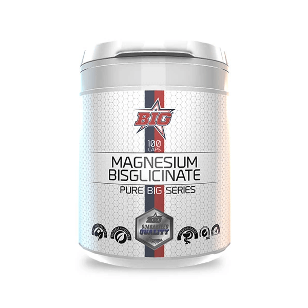 Bisglicinato de Magnesio - 100 cápsulas