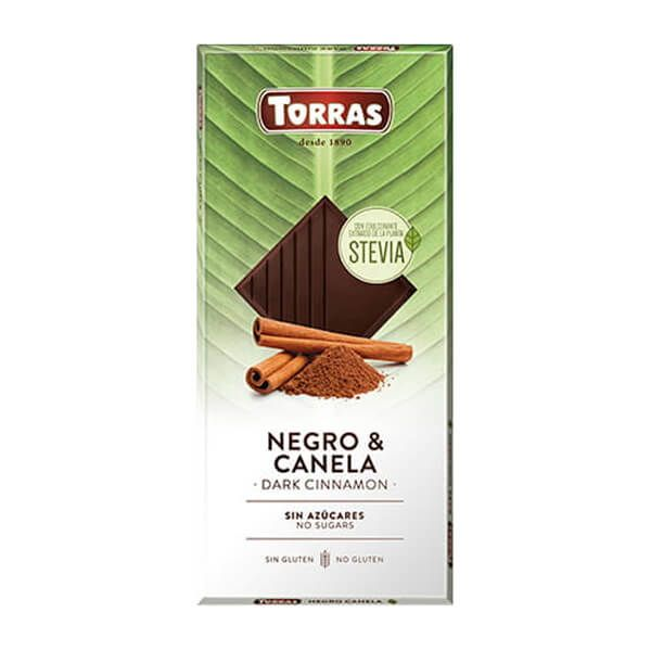 Chocolate Negro con Canela - 125g