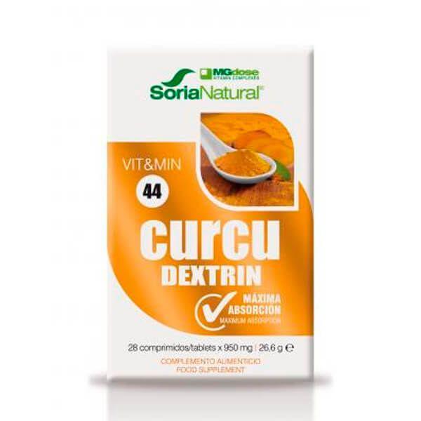 Curcu Dextrin - 28 Tabletas