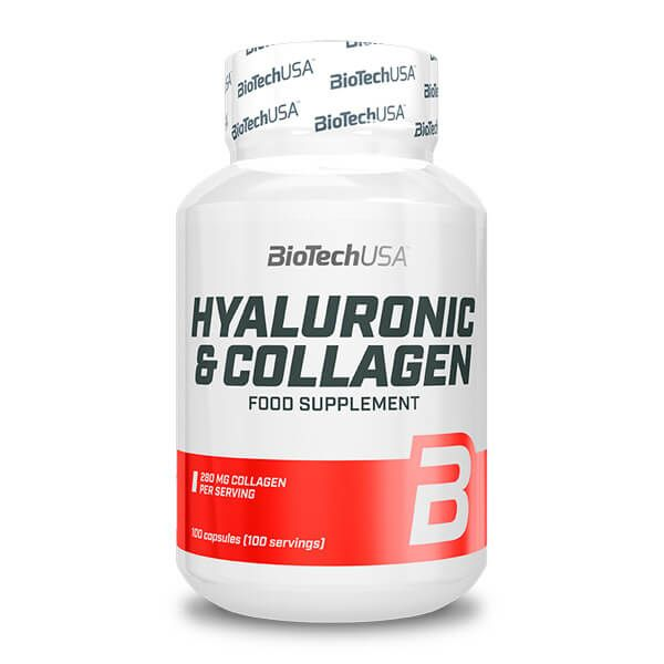 Hyaluronic & collagen - 100 capsules