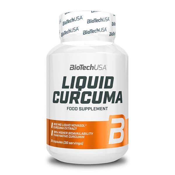 Liquid Curcuma - 30 Cápsulas