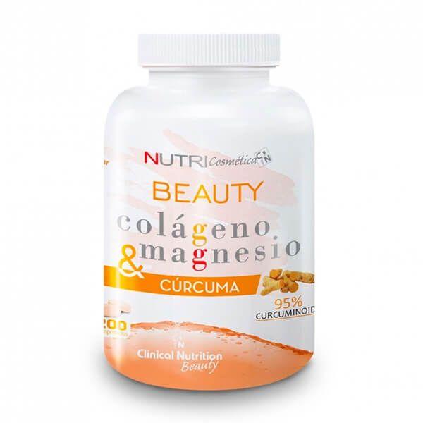 Colágeno Magnesio y Cúrcuma - 200 Tabletas