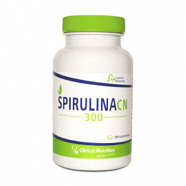 Espirulina - 300 Tabletas