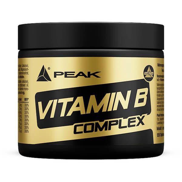 Vitamina B Complex - 120 Tabletas