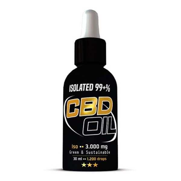 Cbd oil iso 3000mg - 30ml
