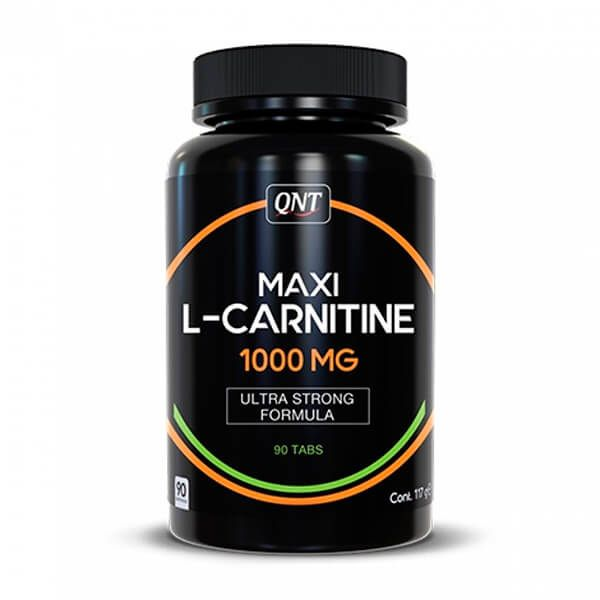 Maxi L-Carnitina 1000mg - 90 Tabletas