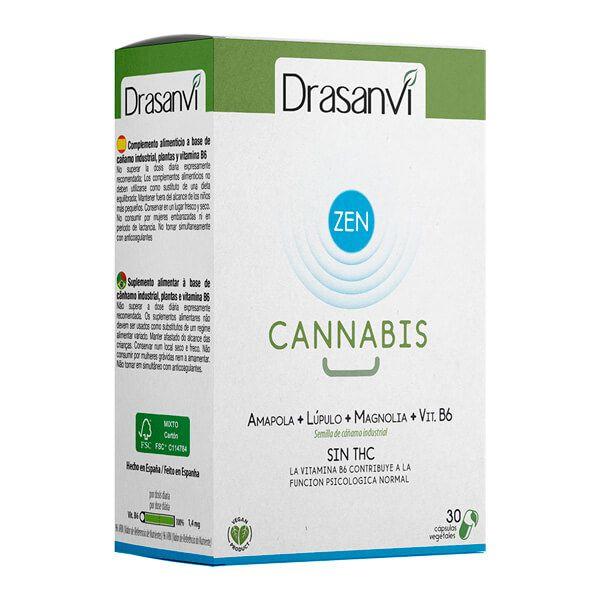Cannabis Zen Azul - 30 Cápsulas