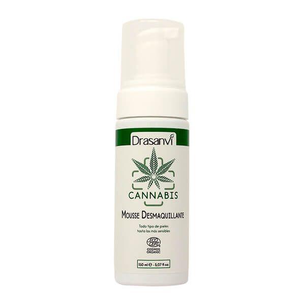 Ecocert bio cannabis makeup remover mousse - 150ml