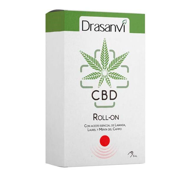 Roll-on cbd red relief and head tension - 5ml