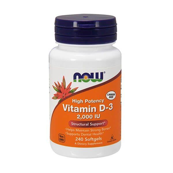 Vitamina D3 2000IU - 240 Softgels