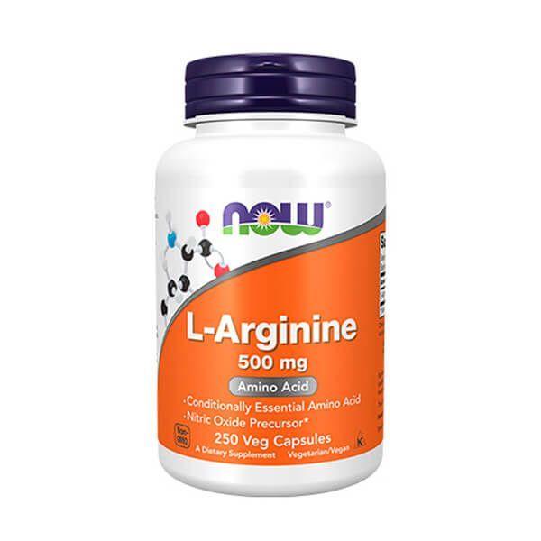 L-Arginina 500mg - 250 Cápsulas