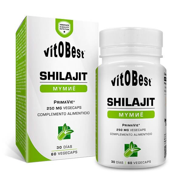Shilajit - 60 Cápsulas vegetales