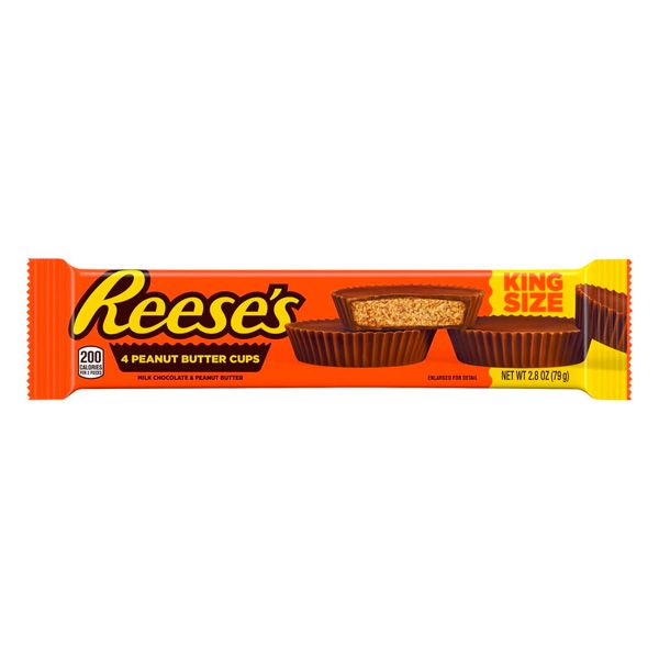 Reese's 4 Peanut Butter Cups King Size - 79g