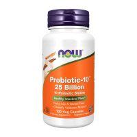 Probiotic-10 25 Billion - 100 Cápsulas vegetales [Now]