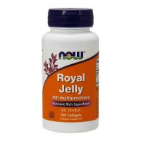 Royal Jelly 300mg - 100 Softgels [Now]