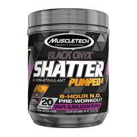 Black Onyx Shatter Pumped 8 - 160g [Muscletech]