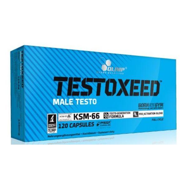 Testoxeed envase de 120 cápsulas de Olimp Sport (Precursores Hormonales  Naturales)