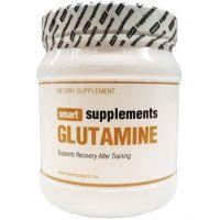 Glutamina Polvo envase de 300 g de la marca Smart Supplements
