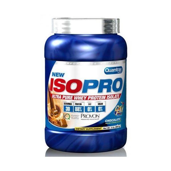 ISOPro CFM de 908g de la marca Quamtrax (Proteína de Aislado de Suero Isolate)