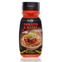 Salsa Tomate Basílico 0% envase de 320ml de la marca Servivita (Salsas Saladas Sin Calorias)