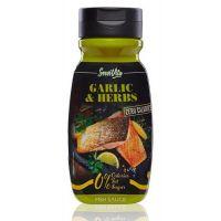 Salsa de Hierbas y Ajo 0% envase de 320ml de Servivita (Salsas Saladas Sin Calorias)