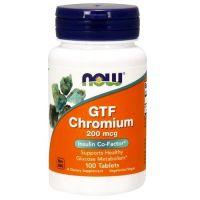 Cromo FTG 200mcg de 100 tabletas de Now Foods (Otros Quemadores)
