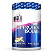 100% Proteína Aislada de Soja sin GMO envase de 454 g de Haya Labs (Proteína Vegetal y Veganos)