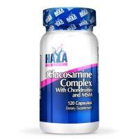 Complejo de Glucosamina Condroitina y MSM envase de 120 cápsulas del fabricante Haya Labs