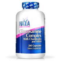 Complejo de Glucosamina Condroitina y MSM de 240 cápsulas del fabricante Haya Labs