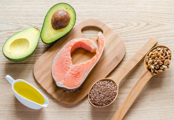 Les aliments riches en triglycérides