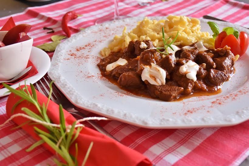 Receta de carne con alubias