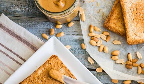 El valor nutricional de la mantequilla de maní
