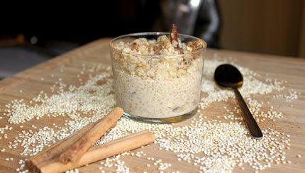 Quinoa a lo arroz con leche