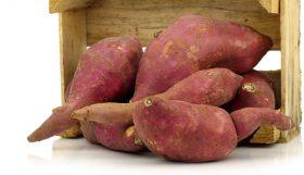 La batata como suplemento para los batidos antioxidantes