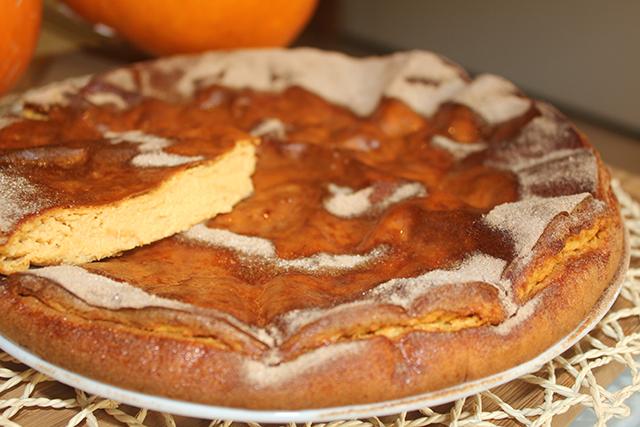 """Pastel de queso y calabaza """"Halloween cheesecake"""""""