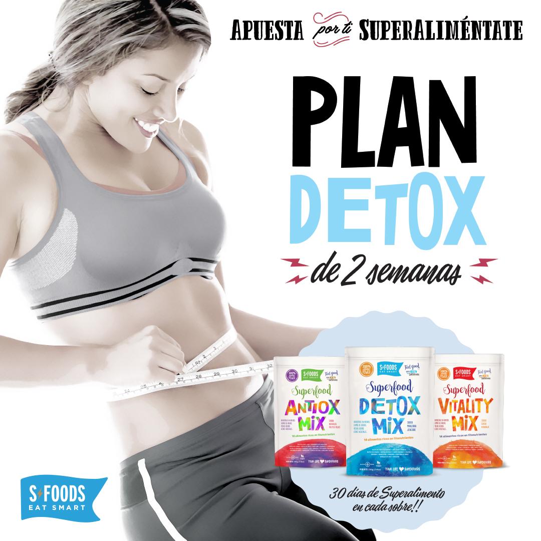 Plan Detox de 2 Semanas