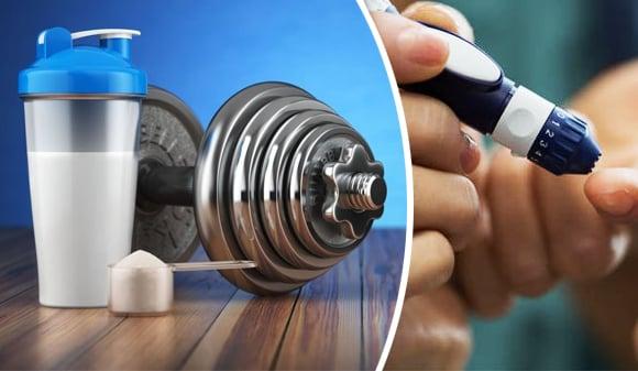 suplementos proteicos y diabetes tipo 1