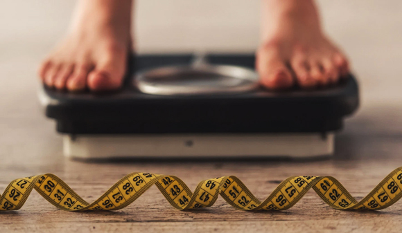 el pedazo de pan eucaristía de la perdida de peso