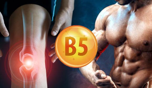 Vitamina B5, la protestosterona que cura los tendones