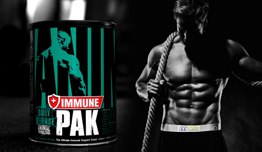 Próximo lanzamiento: Animal Pak Immune